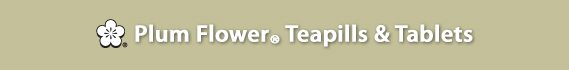 Plum Flower® Teapills & Tablets