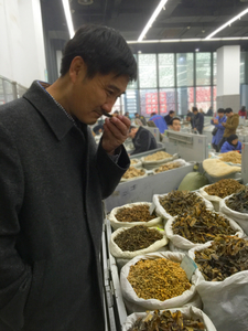 Mr. Zhang Sniffing Herbs