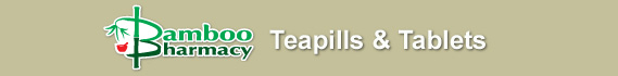 Bamboo Pharmacy® Teapills & Tablets