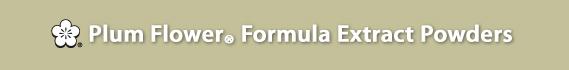 Plum Flower® Formulas