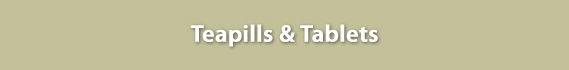 Teapills & Tablets