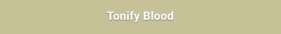 Tonify Blood