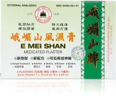 E Mei Shan Medicated Plaster