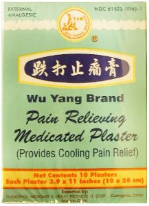 Pain Relieving Medicated Plaster