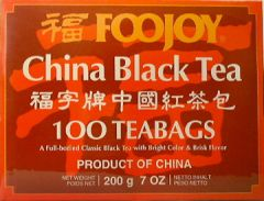 Foojoy China Black Teabags