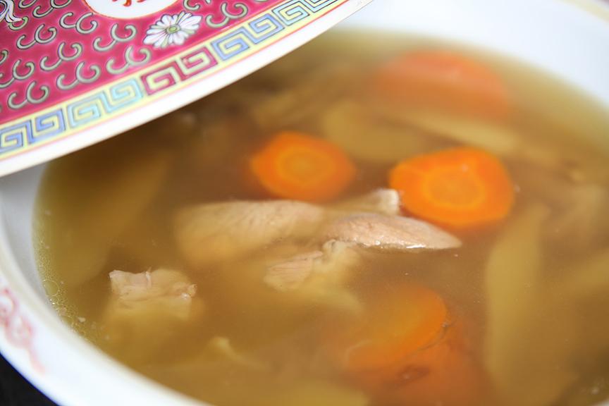 Sha Shen Yu Zhu soup