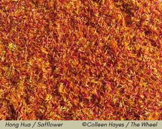 Hong Hua / Safflower ©Colleen Hayes / The Wheel