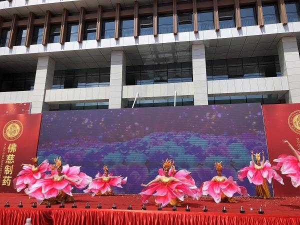 Lotus dancers at Lanzhou Foci