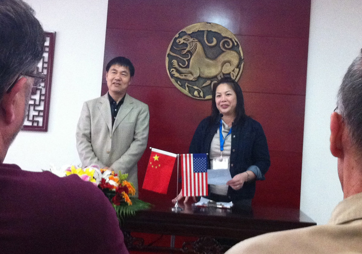 Yvonne and Wang Yang Jun