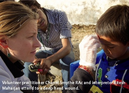 Chanel Smythe Acupuncture Relief Project