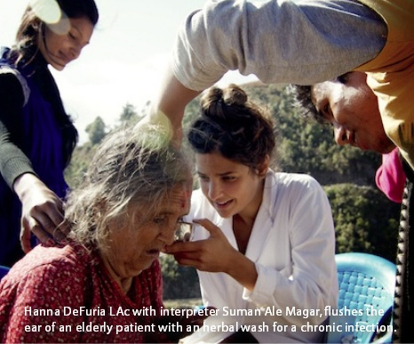 Hanna DeFuria Acupuncture Relief Project