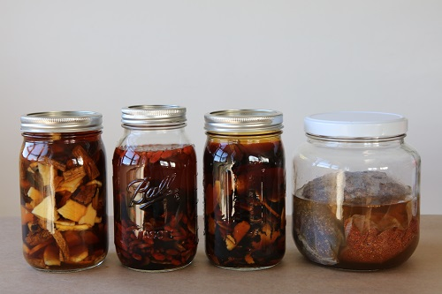 Tonic Wines in Jars
