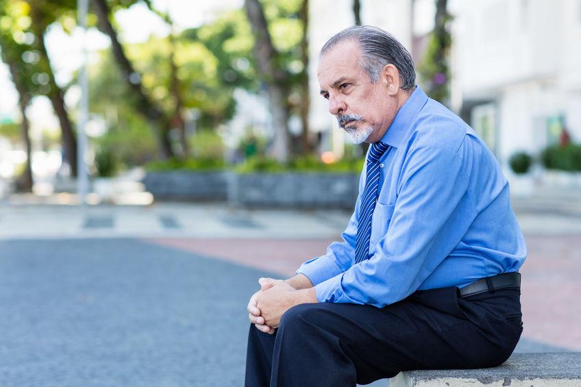 Older Stressed Man