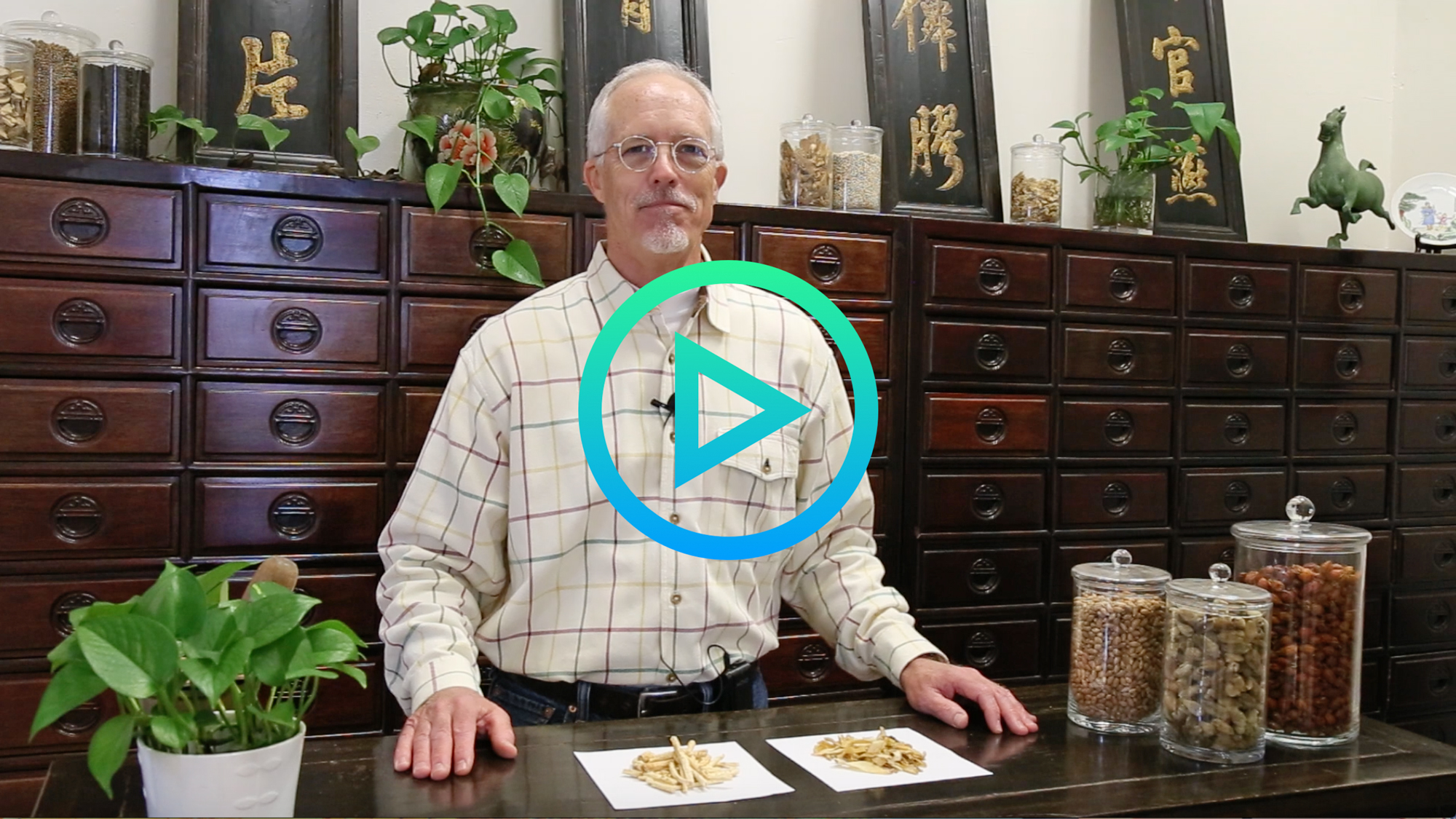 Herbalist Corner Yu Zhu and Bei Sha Shen video