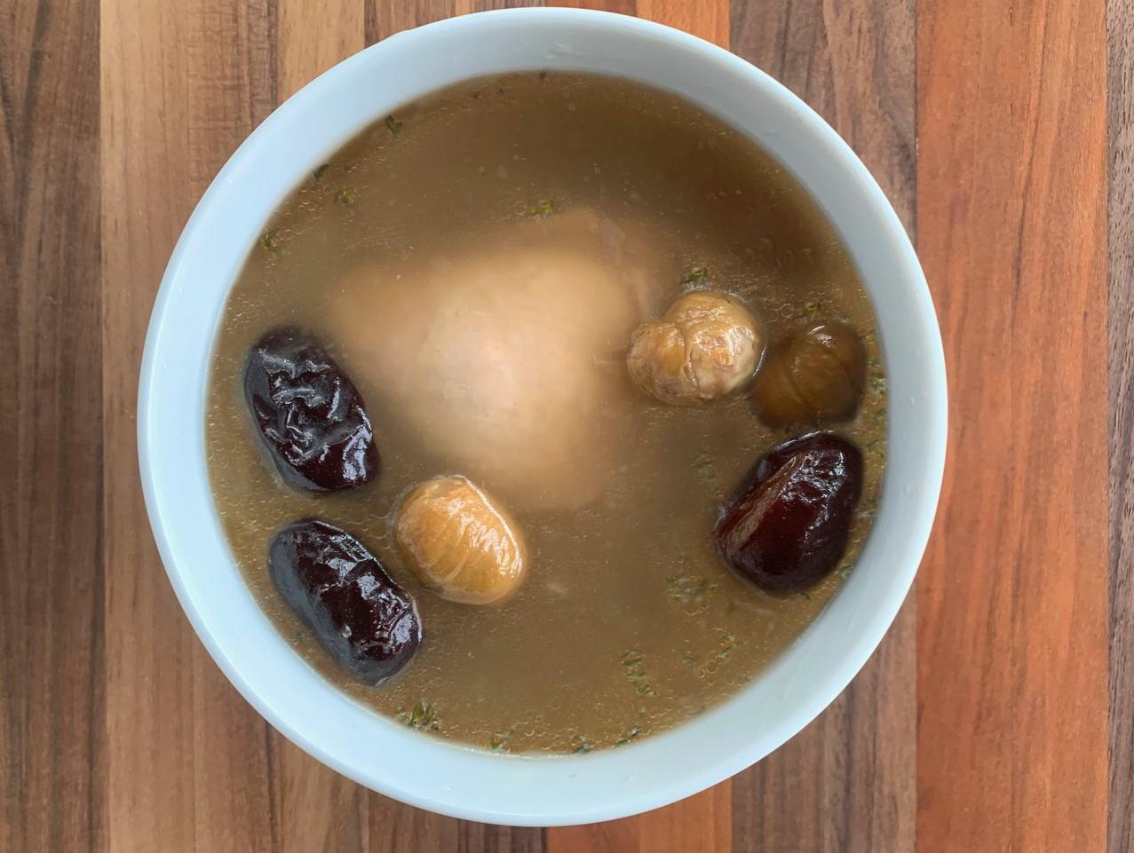 chicken chestnut soup