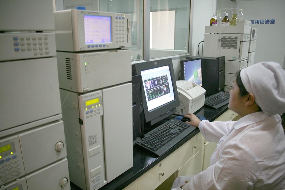 HPLC testing vintage
