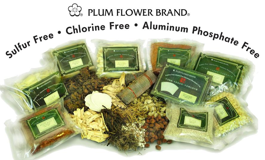 Plum Flower sulfur free herbs