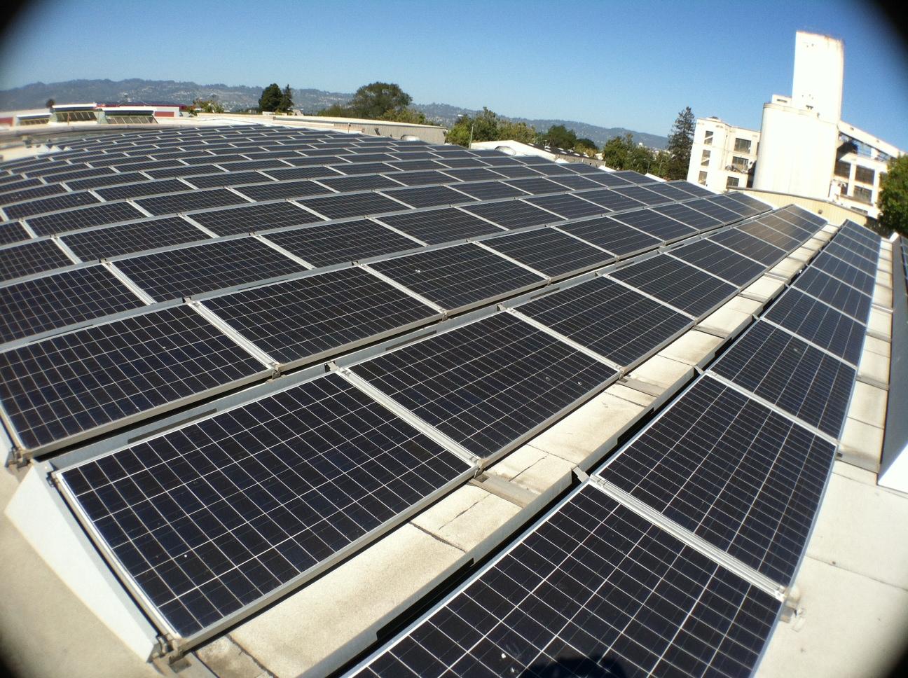 Mayway Oakland solar panels