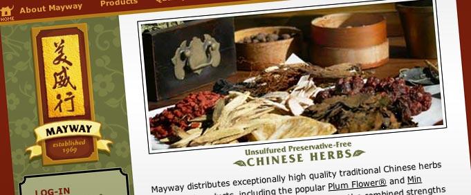 original Mayway website