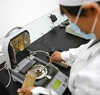 Testing powder