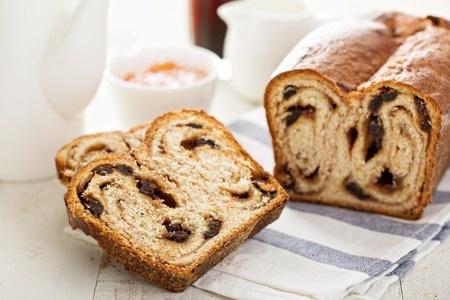 Cinnamon Walnut Gou Qi Zi Bread