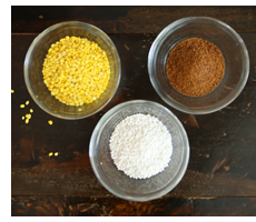 Mung Bean and Coconut Soup Ingredients