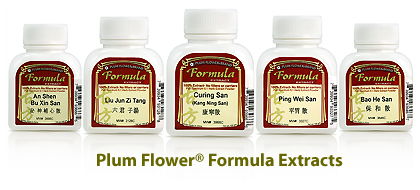 Plum Flower Formula Extracts Lineup