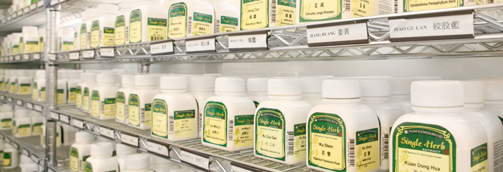 Mayway Dispensary shelves