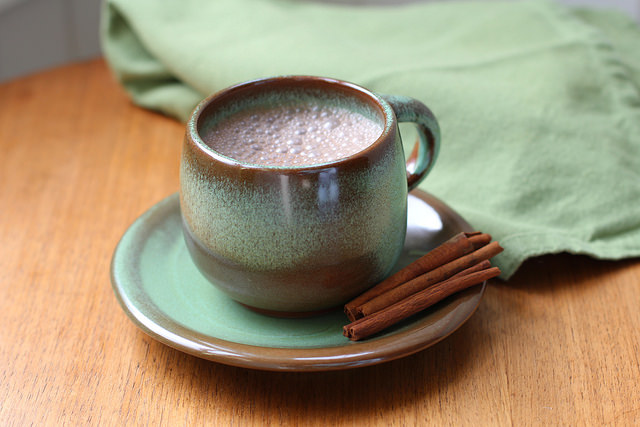 Reishi Mexican Hot Chocolate